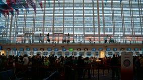 Cruise ship terminal in Miami, Florida. USA stock photography