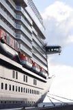 Cruise ship at the cruise terminal Royalty Free Stock Photos