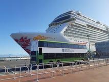Cruise Ship Terminal in Victoria, Canada stock photo