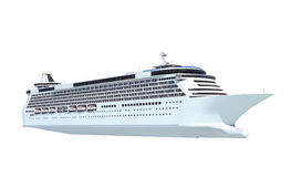 Cruise Ship Transportation Vacation Concept Royalty Free Stock Images
