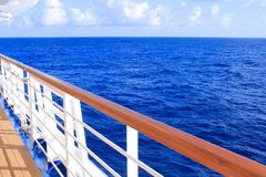 Cruise ship travel Stock Photography