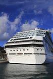 A Cruise Ship in Valletta, Malta on November 14, 2014 Stock Photography