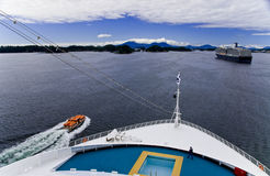 Cruise Ship View Royalty Free Stock Photos