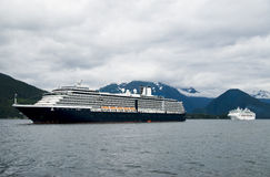 Cruise Ship View Alaska Stock Photography