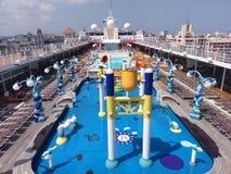 Cruise ship, water transportation, leisure, passenger ship, watercraft, ship, swimming pool. Cruise ship is water transportation, watercraft and tourism. That Stock Photos