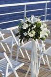 Cruise ship wedding Royalty Free Stock Images