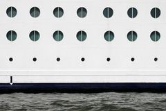 Cruise ship windows Royalty Free Stock Photo