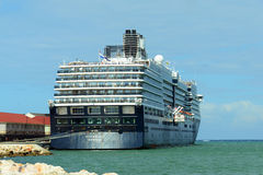 Cruise Ship Zuiderdam in Jamaica Royalty Free Stock Photo