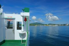 Cruise. Shipping between the Philippine islands Stock Photography