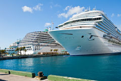 Cruise Ships Royalty Free Stock Images