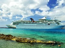 Cruise Ships stock image