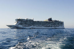 Cruise ships in Cannes Stock Photos