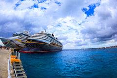 Cruise Ships In Cozumel Stock Photo