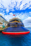 Cruise Ships In Cozumel Royalty Free Stock Photos
