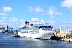Cruise Ships Stock Photo