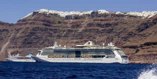 Cruise Ships stock images