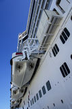Cruise Ships in the Port Stock Photography