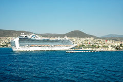 Cruise ships at port Stock Images