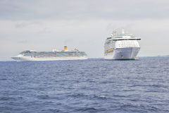 Cruise Ships  Stock Photos