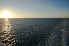 Cruise Ships Wake Royalty Free Stock Photos