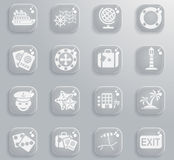 Cruise simply icons. Cruise simply symbol for web icons and user interface Royalty Free Stock Photography
