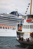 Cruise and steamer Stock Images