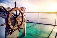 Cruise at sunset Royalty Free Stock Photo