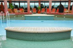 Cruise swimming pool Royalty Free Stock Photos