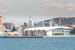 Cruise terminal Cagliari Stock Photo