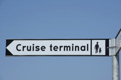 Cruise terminal Stock Photos