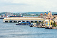 The cruise terminal in  Havana Stock Photos