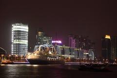 Cruise terminal in Shanghai Royalty Free Stock Image