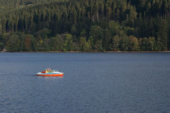 Cruise in the Titisee Stock Photos
