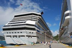 Cruise To St.Maarten stock images