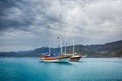 Cruise touristic ship Royalty Free Stock Photo