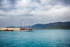 Cruise touristic ship Stock Photo