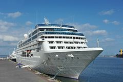 Cruise travel ship Stock Images