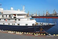 Cruise travel ship Royalty Free Stock Photos
