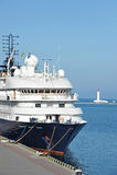 Cruise travel ship Royalty Free Stock Photo