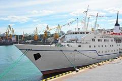Cruise travel ship Royalty Free Stock Image