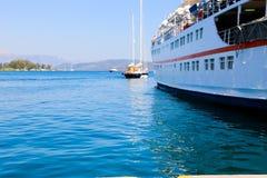 Cruise trip - Greece island Royalty Free Stock Photo