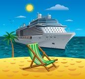 Cruise tropical resort Stock Photos