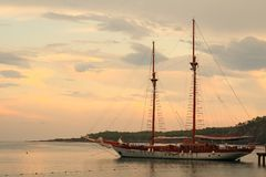 Cruise in Turkey Royalty Free Stock Image