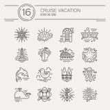 Cruise Vacation Royalty Free Stock Photos
