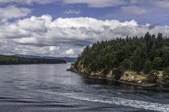 Cruise van Vancouver aan Victoria Island Stock Foto