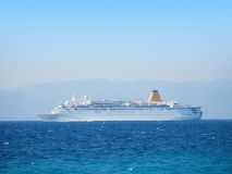 Cruise vessel Royalty Free Stock Images