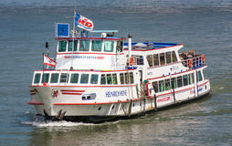 Cruise vessel of the Cologne Dusseldorfer line Royalty Free Stock Images
