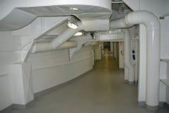Cruisehip Crew corridor Stock Photo