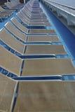 Cruisehipligstoelen Stock Afbeeldingen