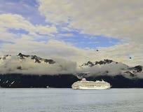 Cruiseing в Аляске Стоковые Фотографии RF